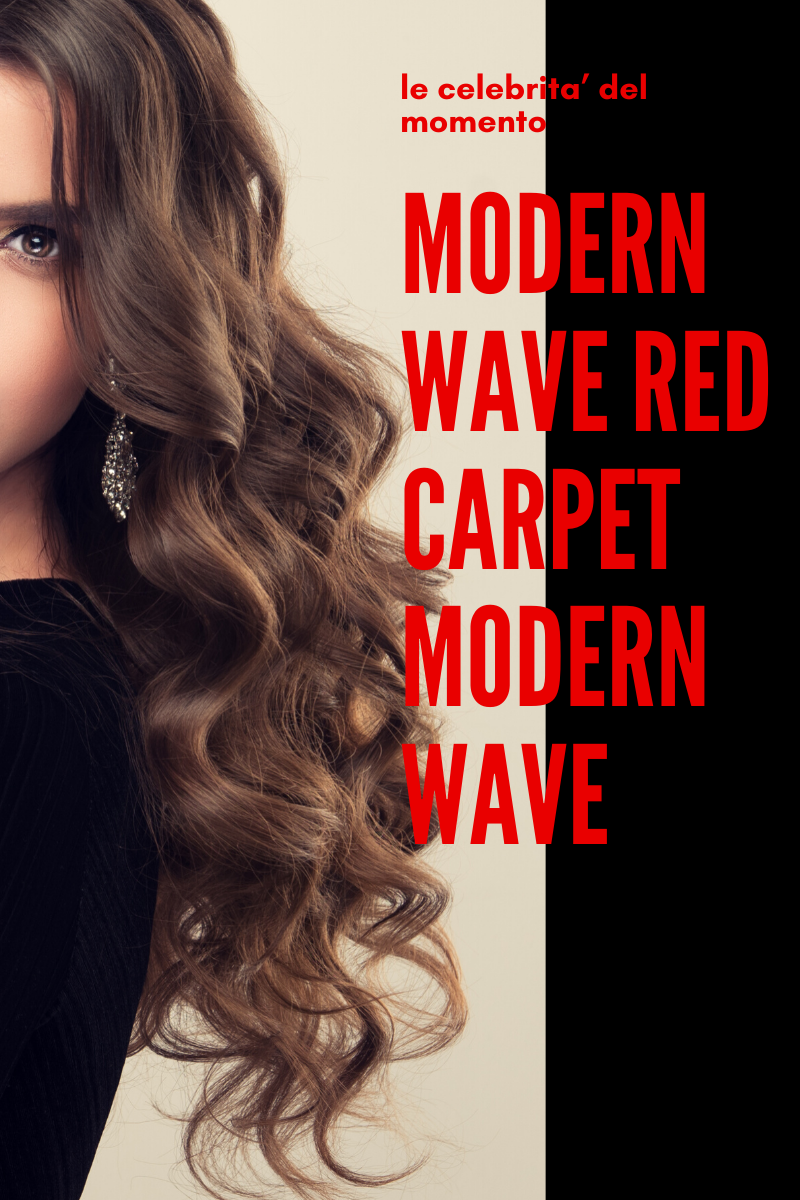 Modern Wave, Beach Wave, Red Carpet